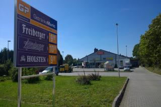 Nahversorgungszentrum in Welzow, Brandenburg