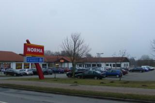 Einkaufszentrum in Grimmen