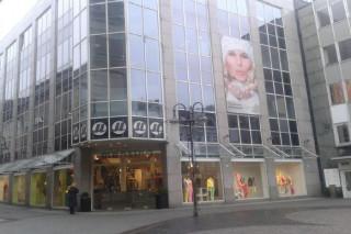 Geschäftshaus mit MODEHAUS MENSING in Bottrop, Nordrhein-Westfalen
