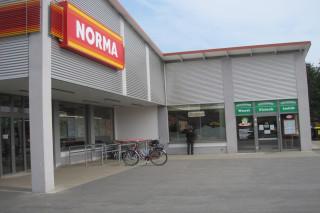Fachmarkt mit NORMA in Guben, Brandenburg